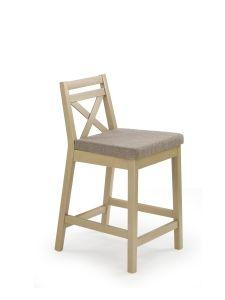 Barová židle nízká BORYS - SKLADEM