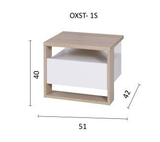 Noční stolek OXFORT