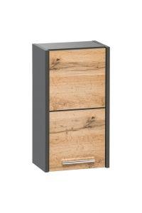 Koupelnová skříňka BIZA ANTRACIT 830 - závěsná