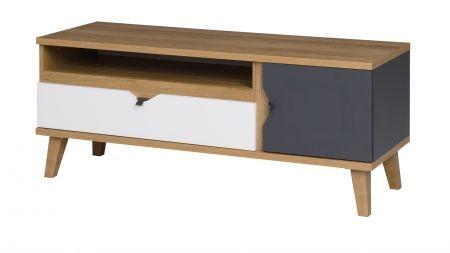 TV stolek s policí MEMONE