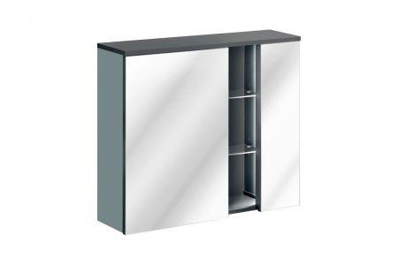 Koupelnová skříňka BAHRAMA MINT 841 - závěsná zrcadlo 80
