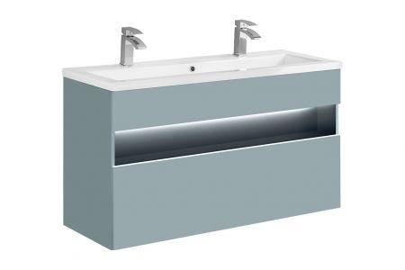 Koupelnová skříňka BAHRAMA MINT 120 854 - pod umyvadlo
