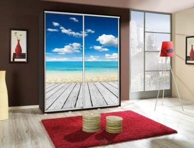 Šatní skříň PEM 155 pláž