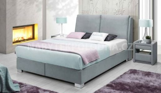 Manželská postel BOXSPRING 505