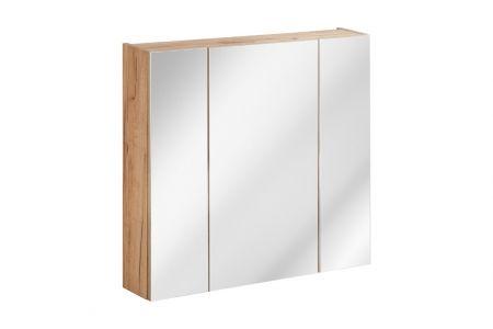 Koupelnová skříňka KAPRI 843 - závěsná zrcadlo 80