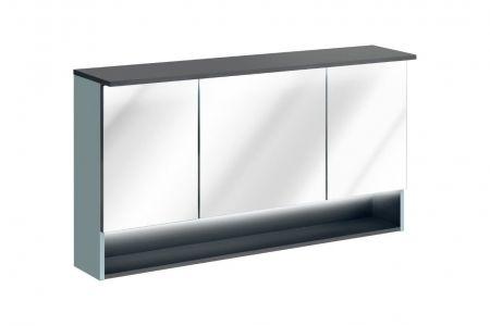 Koupelnová skříňka BAHRAMA MINT 843 - závěsná zrcadlo 120