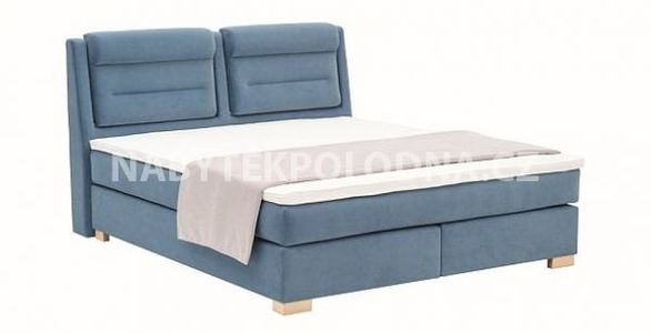 Manželská postel BOXSPRING 504