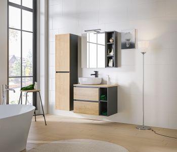 Koupelnová sestava MONACO GREY 120