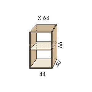 Nástavec na skříň JIM 5 X 63