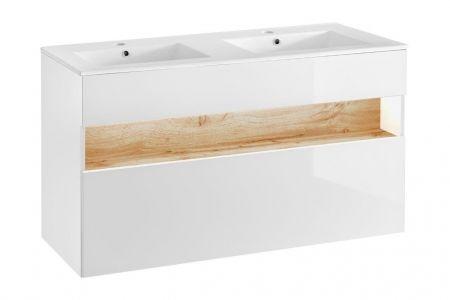 Koupelnová skříňka BAHRAMA WHITE 120 854 - pod umyvadlo