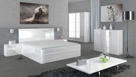 Manželská postel EXCLUSIVE UP