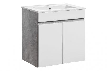 Koupelnová skříňka ATELIER 820 - pod umyvadlo 2x dvířka 60