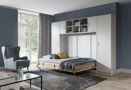 Sklápěcí postel do skříně HORIZONTÁLNÍ