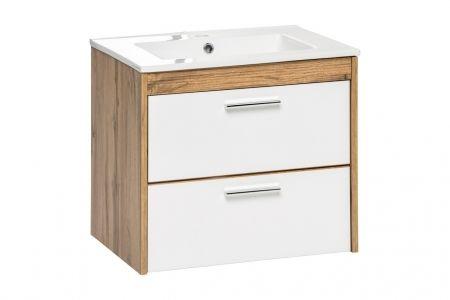Koupelnová skříňka BIZA WHITE 820 - pod umyvadlo 60