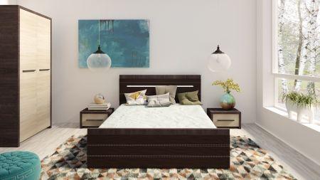 Manželská postel KOLDR