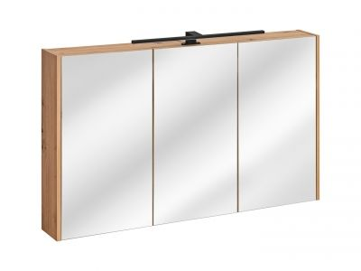 Koupelnová skříňka MADEIRA 843 - závěsná se zrcadlem 120