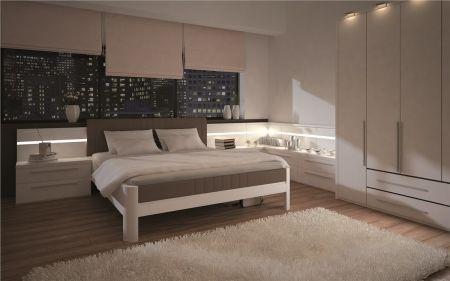 Manželská postel BOHEMIA