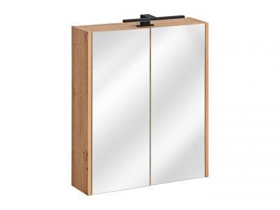 Koupelnová skříňka MADEIRA BÍLÁ 840 - závěsná se zrcadlem 60