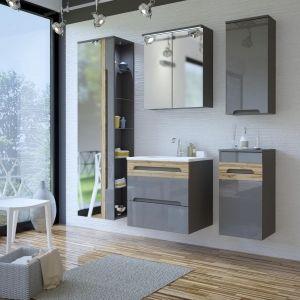 Koupelnová sestava GALLAXY GRAY 140