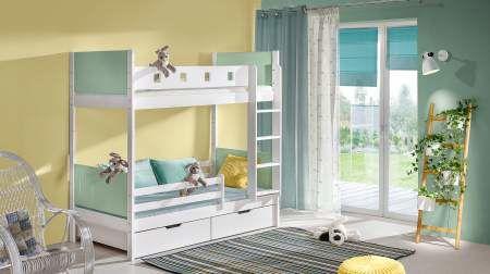 Dětská patrová postel HUBERT