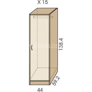 Šatní skříň JIM 5 X 15
