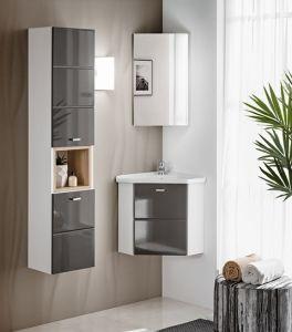 Koupelnová sestava FINKA GRAY ROHOVÁ