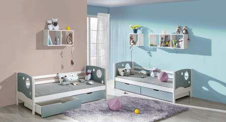Dětská postel s úložným prostorem KEWIN 1