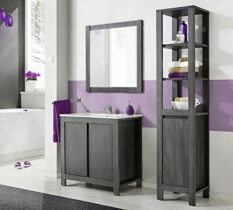 Koupelnová sestava CLASSIC GREY 100