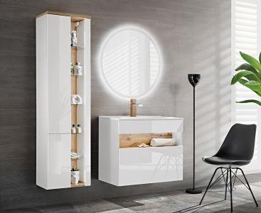Koupelnová sestava BAHRAMA WHITE 105