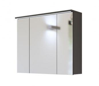 Koupelnová skříňka GALLAXY GRAY 844 - závěsná zrcadlo 80