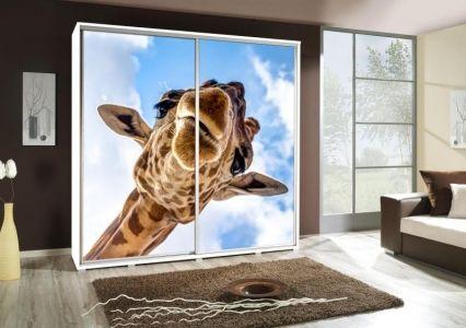 Šatní skříň PEM 205 žirafa