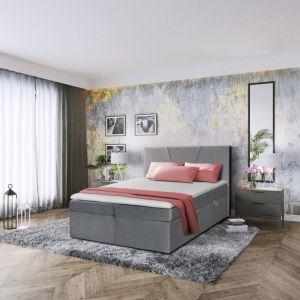 Manželská postel BOXSPRING II