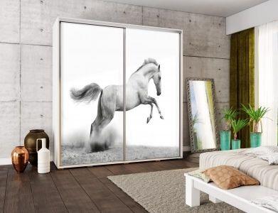 Šatní skříň PEM 205 kůň