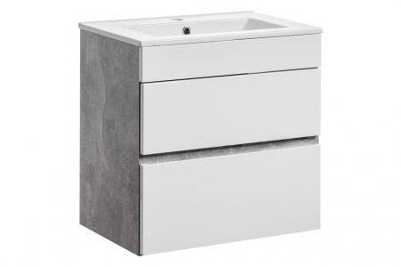 Koupelnová skříňka ATELIER 60 822 - pod umyvadlo 2x šufle