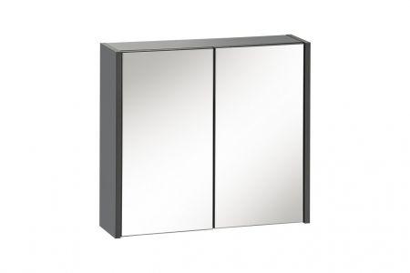 Koupelnová skříňka BIZA ANTRACIT 840 - závěsná zrcadlo 60