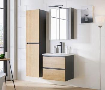 Koupelnová sestava MONACO GREY 100