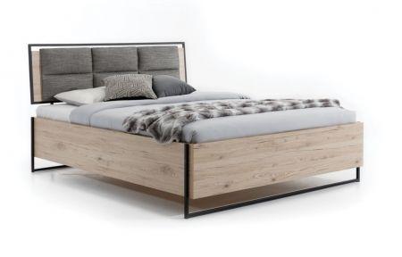 Manželská postel GLAS LOOFT