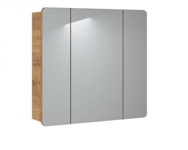 Koupelnová skříňka ARUSA AGAVE 843 - závěsná zrcadlo 80