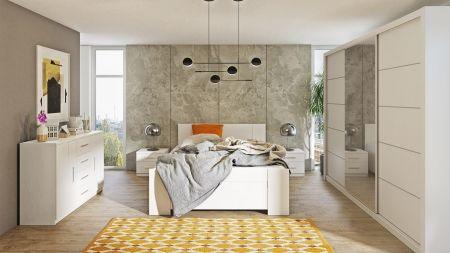 Manželská postel BONNO