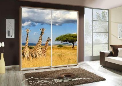 Šatní skříň PEM 205 žirafa II.