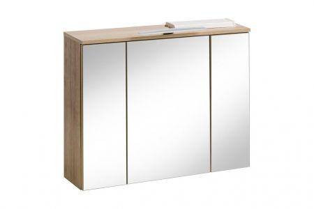 Koupelnová skříňka REMIK 843 - závěsná zrcadlo 80