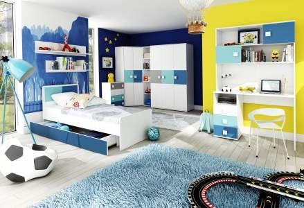 Dětský pokoj FOX modrá