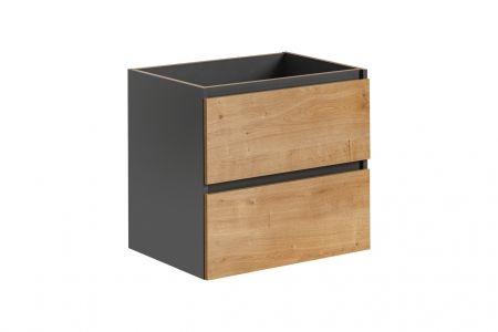 Koupelnová skříňka MONACO GREY 820 - pod umyvadlo 60