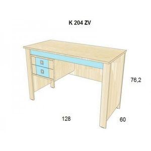 Psací stůl BOŘEK K 1008 Z2