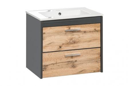 Koupelnová skříňka BIZA ANTRACIT 820 - pod umyvadlo 60