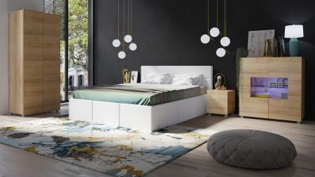 Manželská postel CALABRINI