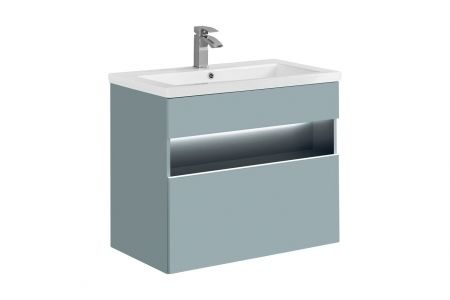Koupelnová skříňka BAHRAMA MINT 820 - pod umyvadlo 60