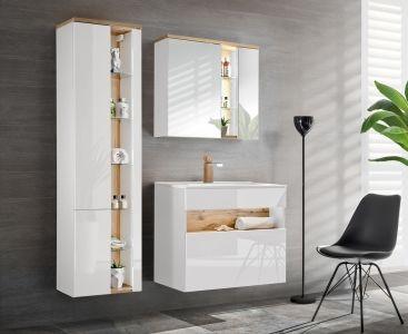 Koupelnová sestava BAHRAMA WHITE II 125