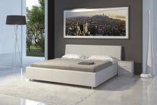 Čalouněná manželská postel DIANA