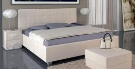 Čalouněná manželská postel DEBBIE PLUS